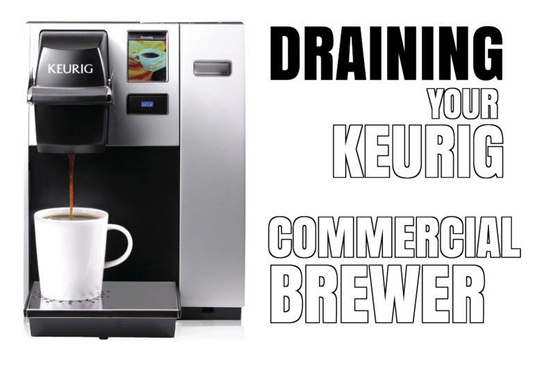 Drain Keurig B150 K150 B150P K150P K155 B155 Brewer