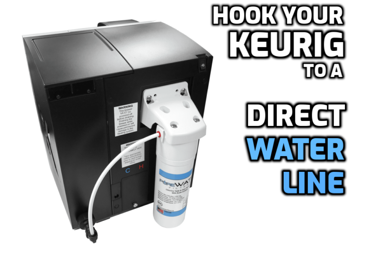 direct water line keurig brewer instructions gmt5572 kq8a