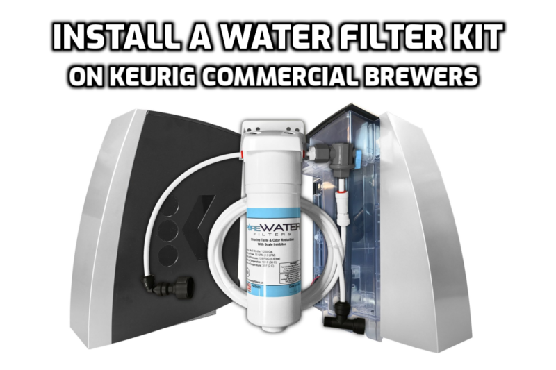 install water line filter kit kq8a kq8 keurig brewers