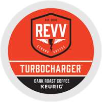 Revv Turbocharger Single Serve Capsules for Keurig K-Cup Brewers