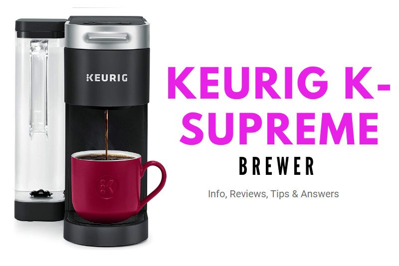keurig ksupreme brewer comparison review plus coffee machine